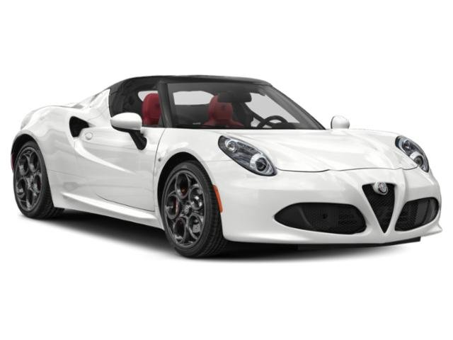 2019 Alfa Romeo 4C Spider Base Price Spider Pricing side front view