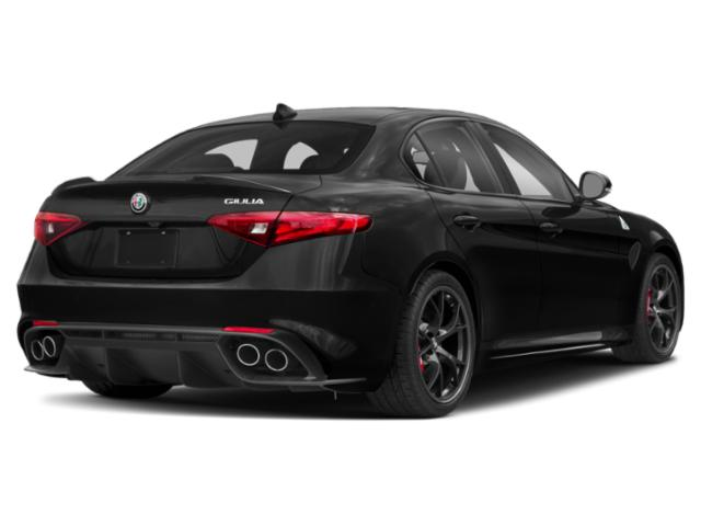 2019 Alfa Romeo Giulia Base Price Ti AWD Pricing side rear view