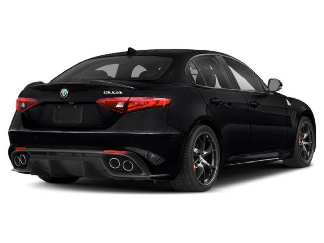 2019 Alfa Romeo Giulia Pictures Giulia RWD photos side rear view