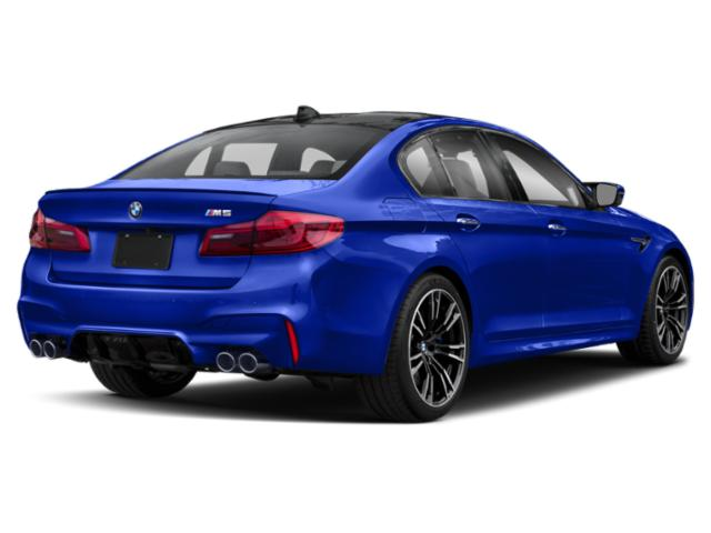 2019 BMW M5 Pictures M5 Sedan photos side rear view
