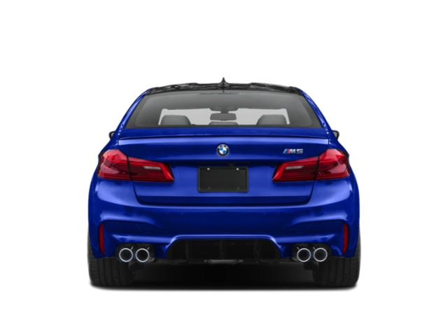2019 BMW M5 Pictures M5 Sedan photos rear view