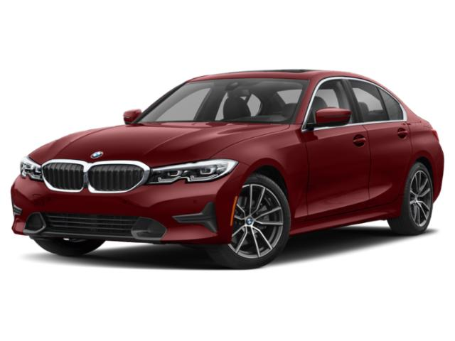 2019 BMW 3 Series Pictures 3 Series 330i xDrive Sports Wagon photos side front view