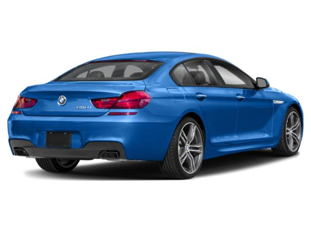 2019 BMW 6 Series Base Price 650i Gran Coupe Pricing side rear view