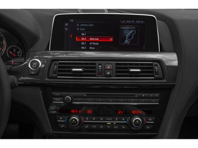 2019 BMW M6 Pictures M6 Gran Coupe photos stereo system