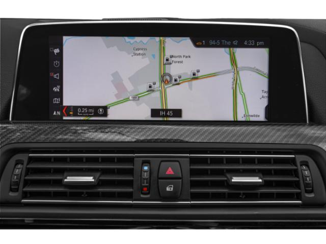 2019 BMW M6 Pictures M6 Gran Coupe photos navigation system