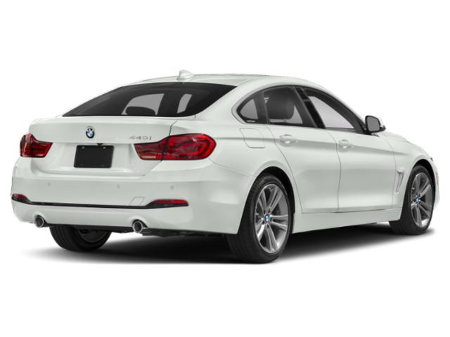 2019 BMW 4 Series Pictures 4 Series 440i xDrive Gran Coupe photos side rear view