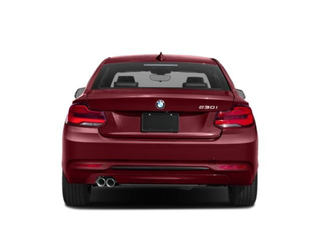 2019 BMW 2 Series Pictures 2 Series 230i Coupe photos rear view