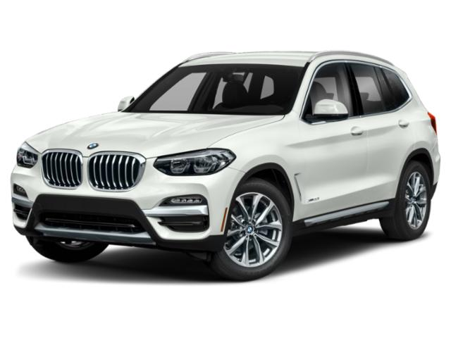 2019 BMW X3 Pictures X3 xDrive30i Sports Activity Vehicle photos side front view