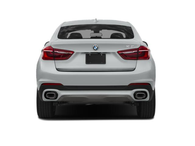 2019 BMW X6 Pictures X6 xDrive35i Sports Activity Coupe photos rear view