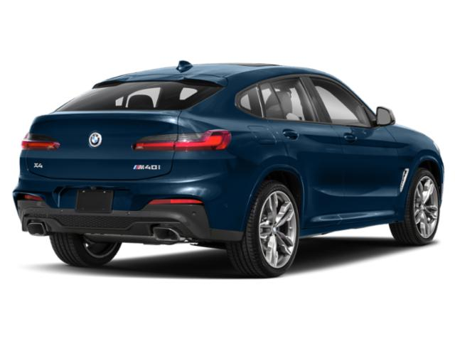 2019 BMW X4 Pictures X4 M40i Sports Activity Coupe photos side rear view