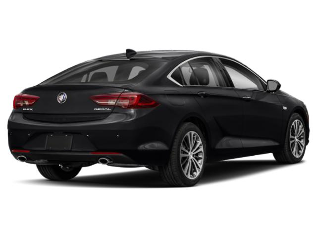 2019 Buick Regal Sportback Pictures Regal Sportback 4dr Sdn Preferred II FWD photos side rear view