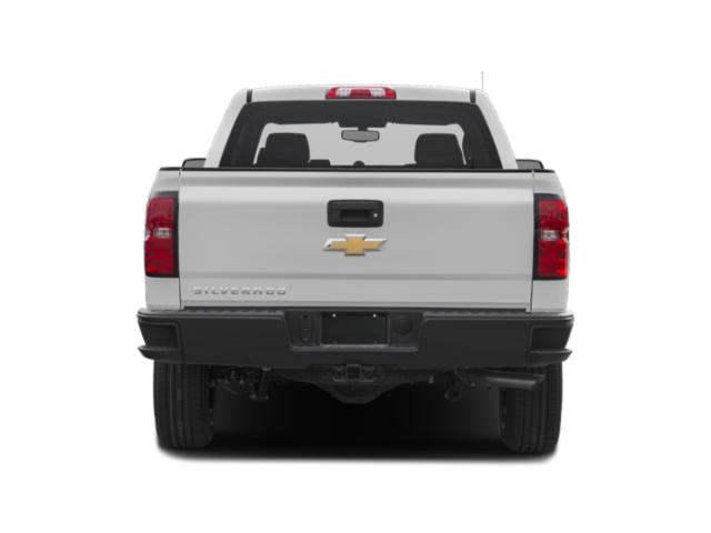 2019 Chevrolet Silverado 1500 LD Base Price 2WD Double Cab Work Truck Pricing rear view