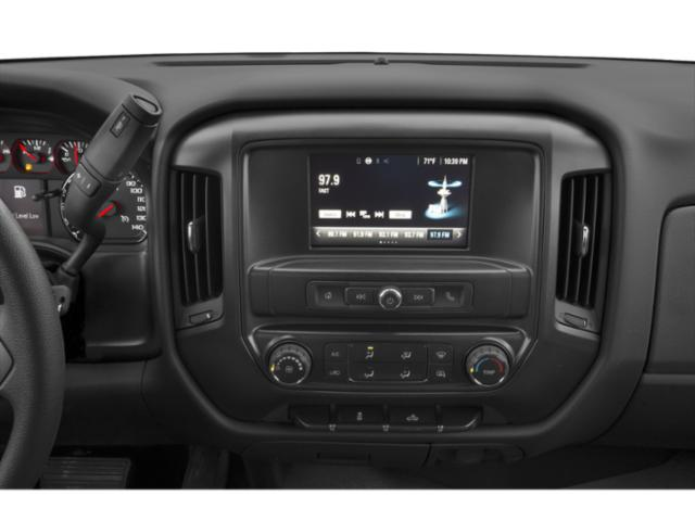 2019 Chevrolet Silverado 1500 LD Base Price 2WD Double Cab Work Truck Pricing stereo system