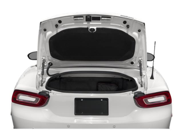 2019 FIAT 124 Spider Base Price Urbana Edition Convertible Pricing open trunk