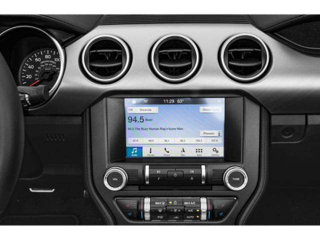 2019 Ford Mustang Pictures Mustang EcoBoost Fastback photos stereo system