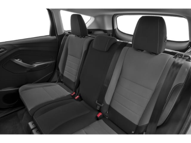 2019 Ford Escape Prices and Values Utility 4D SE EcoBoost 2WD backseat interior