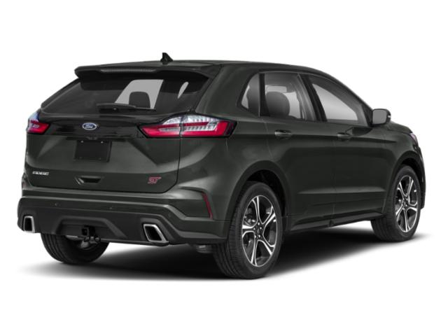 2019 Ford Edge Pictures Edge SE AWD photos side rear view