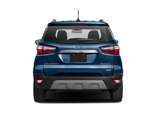 2019 Ford EcoSport Base Price S FWD Pricing rear view