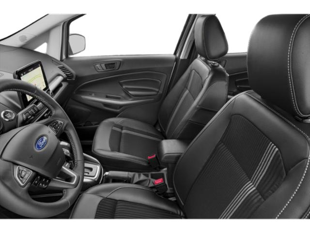 2019 Ford EcoSport Base Price S FWD Pricing front seat interior