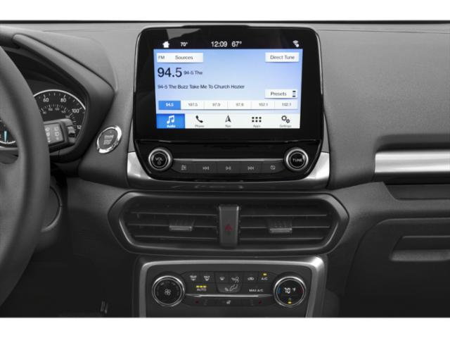 2019 Ford EcoSport Base Price S FWD Pricing stereo system