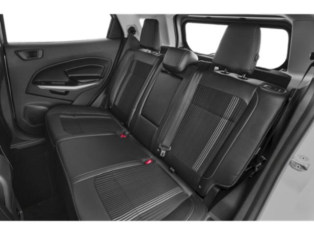 2019 Ford EcoSport Base Price S FWD Pricing backseat interior