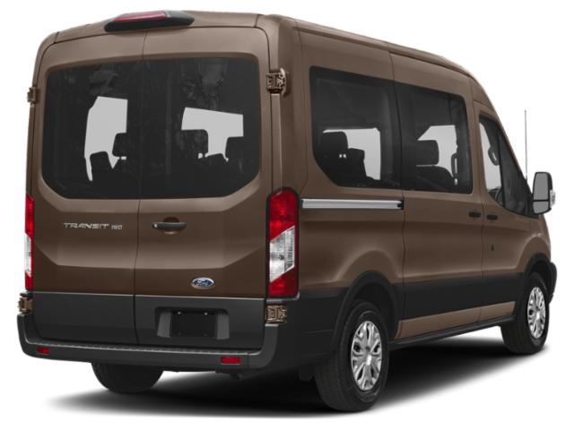 2019 Ford Transit Passenger Wagon Base Price T-150 130 Low Roof XL Swing-Out RH Dr Pricing side rear view