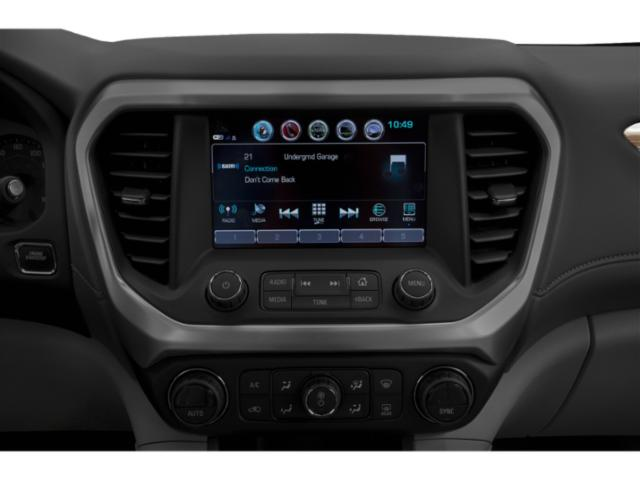 2019 GMC Acadia Base Price AWD 4dr SLE w/SLE-1 Pricing stereo system
