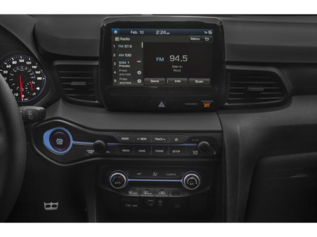 2019 Hyundai Veloster Base Price Turbo Ultimate DCT Pricing stereo system