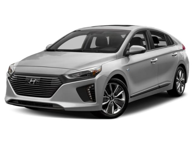 2019 Hyundai Ioniq Hybrid Base Price Blue Hatchback Pricing side front view