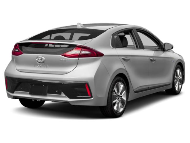 2019 Hyundai Ioniq Hybrid Base Price Blue Hatchback Pricing side rear view