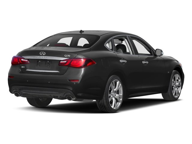 2019 INFINITI Q70 Base Price 5.6 LUXE RWD Pricing side rear view
