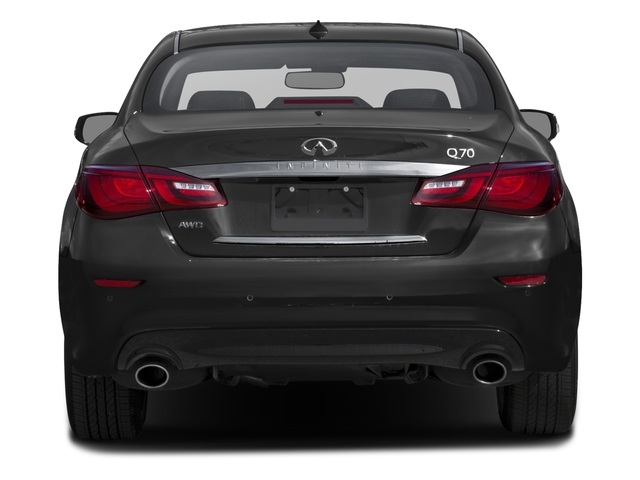 2019 INFINITI Q70 Base Price 5.6 LUXE RWD Pricing rear view