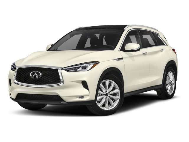 2019 INFINITI QX50 Pictures QX50 LUXE FWD photos side front view