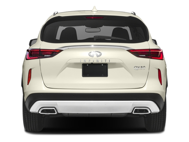 2019 INFINITI QX50 Pictures QX50 LUXE FWD photos rear view
