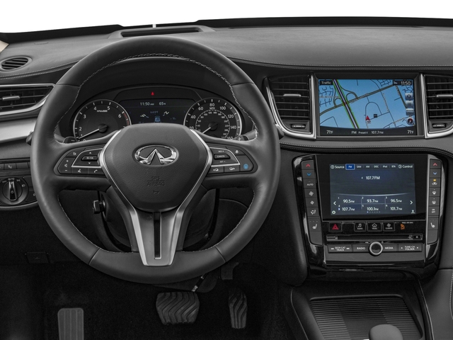 2019 INFINITI QX50 Pictures QX50 LUXE FWD photos driver's dashboard