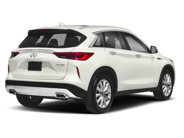 2019 INFINITI QX50 Pictures QX50 PURE AWD photos side rear view