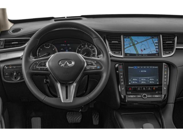 2019 INFINITI QX50 Base Price ESSENTIAL AWD Pricing driver's dashboard
