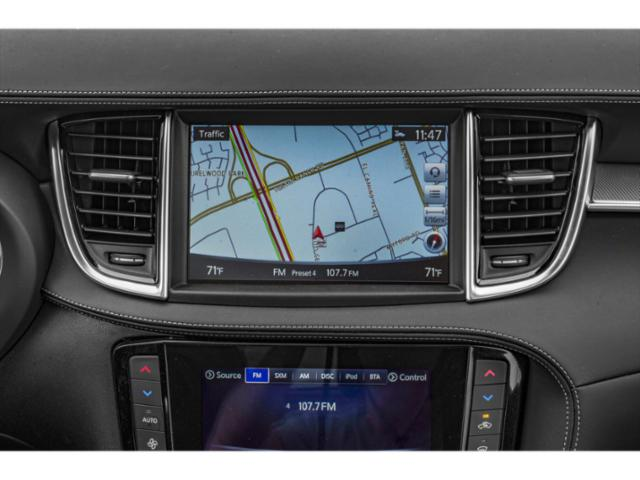 2019 INFINITI QX50 Base Price ESSENTIAL AWD Pricing navigation system