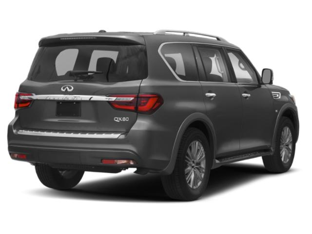 2019 INFINITI QX80 Base Price LIMITED AWD Pricing side rear view