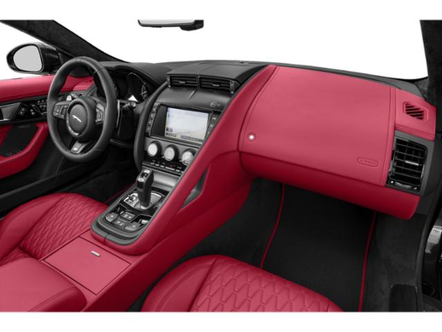 2019 Jaguar F-TYPE Base Price Coupe Auto P300 Pricing passenger's dashboard