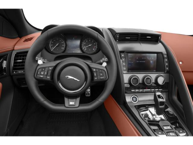 2019 Jaguar F-TYPE Base Price Coupe Auto P300 Pricing driver's dashboard