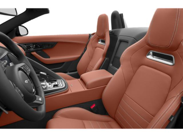 2019 Jaguar F-TYPE Pictures F-TYPE Coupe Auto SVR AWD photos front seat interior