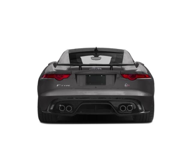 2019 Jaguar F-TYPE Pictures F-TYPE Coupe Auto SVR AWD photos rear view