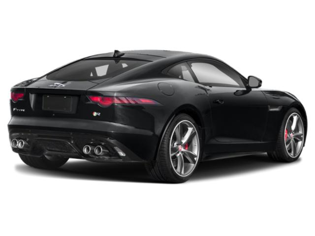 2019 Jaguar F-TYPE Pictures F-TYPE Coupe Auto SVR AWD photos side rear view