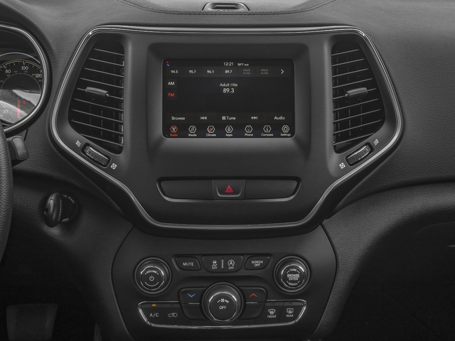 2019 Jeep Cherokee Base Price Trailhawk 4x4 Pricing stereo system