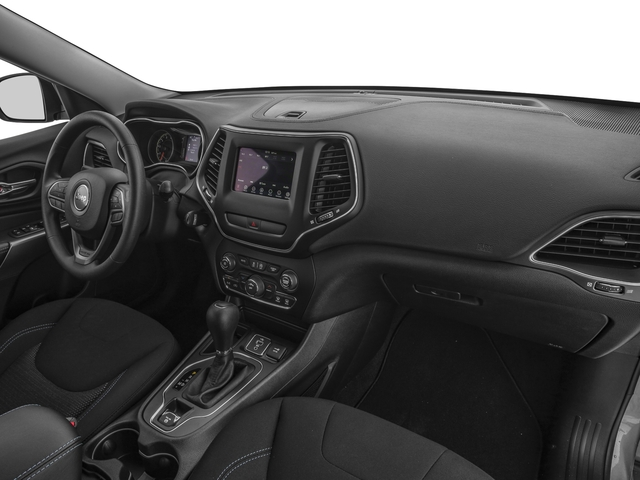 2019 Jeep Cherokee Base Price Trailhawk 4x4 Pricing passenger's dashboard