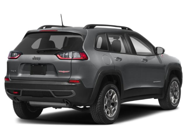2019 Jeep Cherokee Pictures Cherokee Trailhawk Elite 4x4 photos side rear view