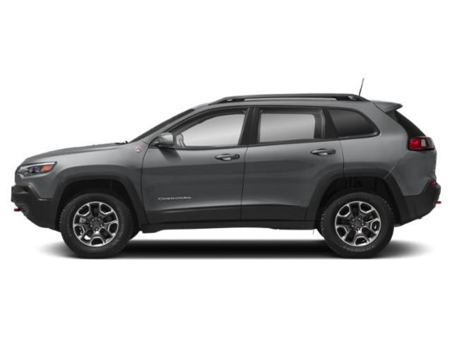 2019 Jeep Cherokee Pictures Cherokee Altitude 4x4 photos side view