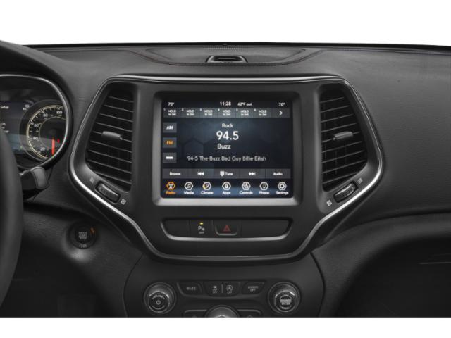 2019 Jeep Cherokee Pictures Cherokee Trailhawk Elite 4x4 photos stereo system