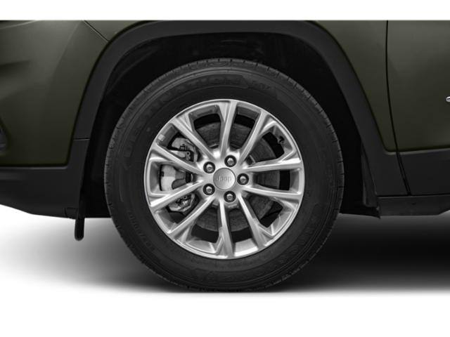 2019 Jeep Cherokee Pictures Cherokee Trailhawk Elite 4x4 photos wheel